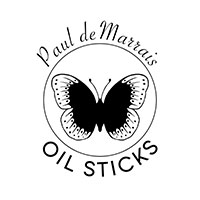 Paul deMarrais Oil Sticks Logo